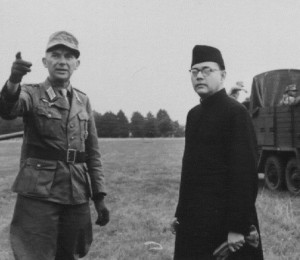 Headley recognised Subhas Bose in this picture and revealed the picture was taken in Syria recently